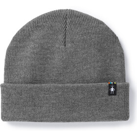Smartwool Cozy Cabin Hat Light Gray Heather-Medium Gray Heather